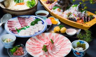 国東半島、地魚料理が美味しい 百年旅館 日向屋