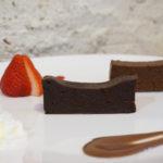 チョコレート研究所 大阪新町店の「テリーヌショコラ食べ比べプレート」